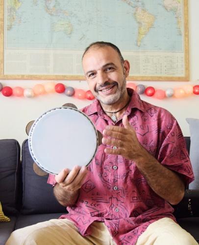 insegnante di percussioni